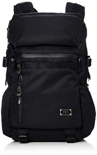 [アッソブ] リュック バックパック 通学 PCバッグ PC収納 CORDURA DOBBY 305D ROUND ZIP BACK PACK Sサイズ BLACK One Size