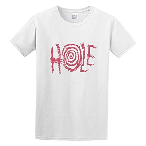 Hole L7 Bikini Kill Slits Riot Grrrl Punk Rock Grunge Graphic Band Shirt Round Collar Tee S, White