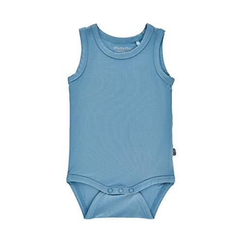 MINYMO Body Ohne Ärmel Chemise boutonnée Formelle Tout-Petit, Blue Heaven, 68 Mixte bébé