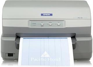 Epson C11C560111 PLQ-20 Impact Passbook Printer, 24 Pin, 94 Column, Serial/Parallel/USB Interface