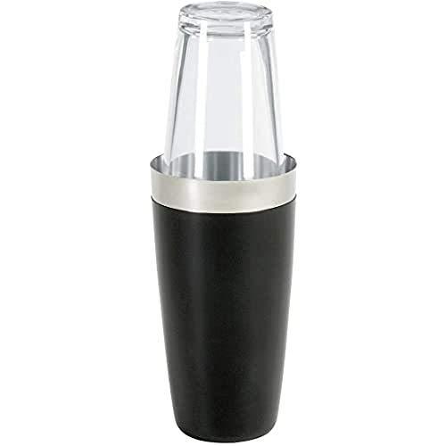 Boston shaker compleet met originele mixing glas + vinyl bescherming tegen kou, roestvrij staal – 28oz.=828ml.