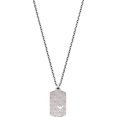 Emporio Armani EGS2600040 Herren Collier ESSENTIAL Edelstahl Silber 53 cm