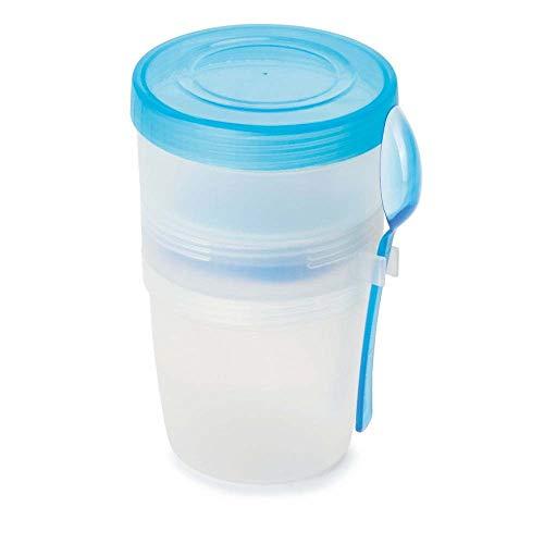 tazza per yogurt Tazza per yogurt e cereali da viaggio con coperchio ermetico verde tazza per cereali
