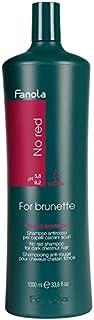 Fanola NoRed shampoo antirosso per capelli castani scuri 1000ml