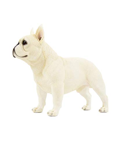 Petorama 100% Handmade Hand Painted Collectible Grade Premium Figurine Gift Lifelike Realistic French Bulldog Statue 1:4 (4)