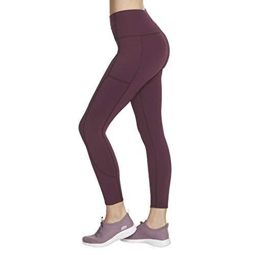 Skechers Damen Walk Go Flex 7/8 Backbend High Waisted Legging Yoga-Hosen, Nachtschirm, X-Klein