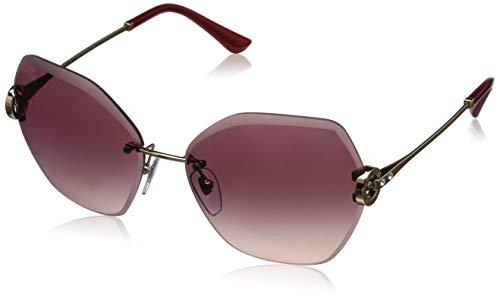 Bulgari 0Bv6105B 20148H 62 Gafas de sol, Dorado (Pink/Viola), Mujer