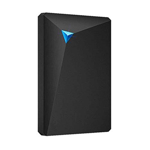 Gymy Disco duro portátil opcional almacenamiento mecánico portátil, negro - 1TB