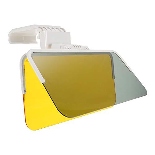 FAVOMOTO Visera de Sol para Coche Visera de Parabrisas para El Día Y La Noche Visera Antideslumbrante para Vehículo