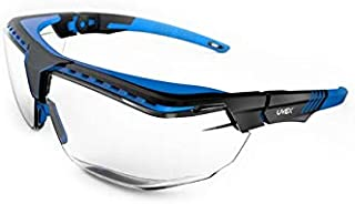 Uvex Avatar Glasses OTG BLK/Blue, Clear AR/HC