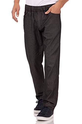 Chef Works Men's Gramercy Chef Pants, Black, Large