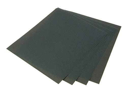 Faithfull AWDP1200 Schleifpapierbogen für Feucht- und Trockennutzung, Grad A1200, 25Stück