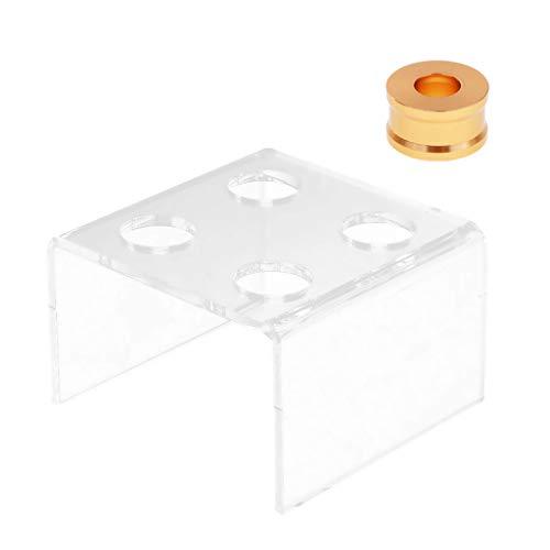 SaniMomo 2 Stücke Kleine Design Silikon Lippenstiftform Form Stehen Legierung Ring Set Diy...