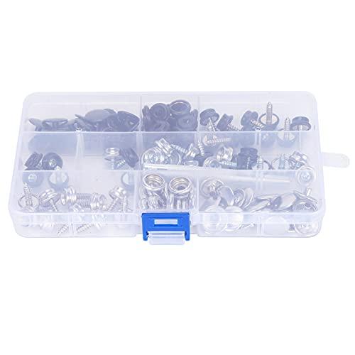 Sujetador a presión, kit de sujetador a presión, herramienta de cubierta de lona para carpa, 10 mm / 15 mm para reparación de carpas para ropa