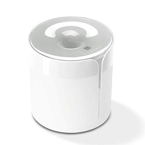 Liaobeiotry - Portarrollos de papel higiénico de pared, redondo, dispensador de servilletas, impermeable, para baño, coche, oficina, cajas de almacenamiento, color blanco