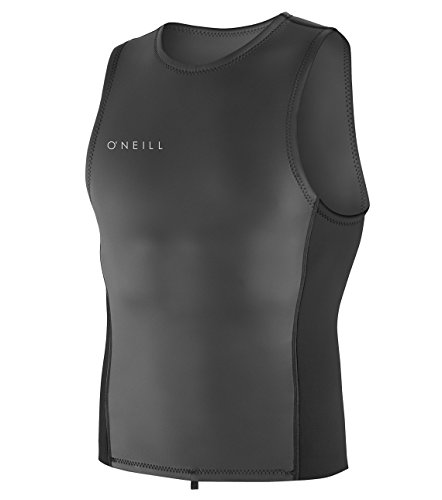 O'Neill Men's Reactor-2 2mm Pull Over Vest, Black, Large