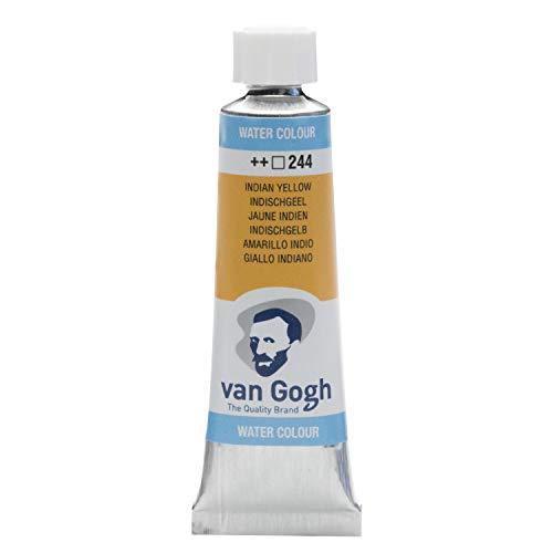 Van Gogh Watercolor Paint, 10ml Tube, Indian Yellow 244