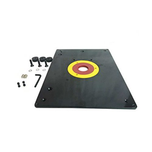 Replace MLCS 9338 All-In-one Router Plate kit 9-1/4-Inch x 11-3/4-Inch x 3/8-Inch table