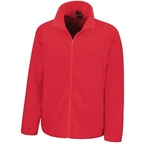 Result Herren Core Micro Fleece Jacke, Rouge, L