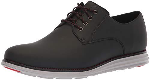 Cole Haan Men's Original Grand Plain Toe Sneaker, Black Matte Leather, 10.5 M US