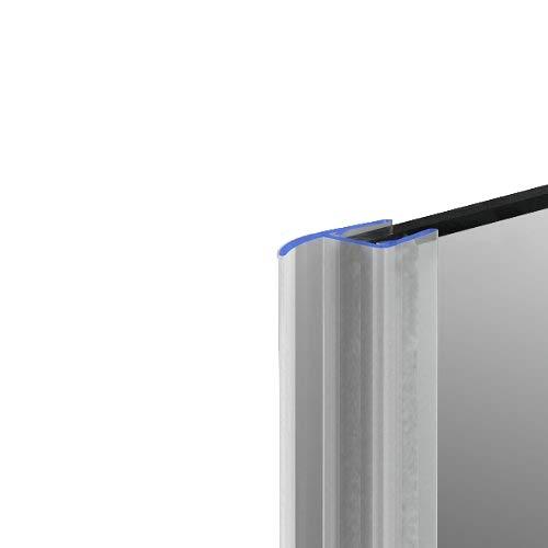 Duschdichtung Dichtleiste Spaltdichtung Modell 18 für 5mm Glasstärke 190cm