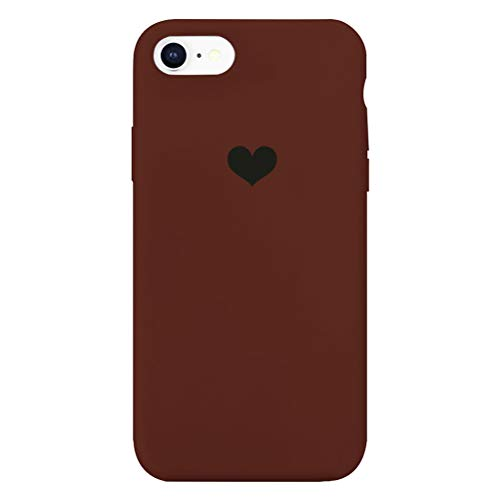 13peas Für iPhone 6 Hülle Silikon iPhone 6S Schutzhülle Handyhülle iPhone 6 Plus Silikonhülle Herz Motiv Schutzschale iPhone 6S Plus Hüllen Tasche Handytasche Weiche Etui (iPhone 6/6S, 2)