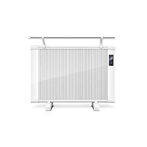 TWW Radiador Eléctrico Pequeño Inodoro De Oficina Calentador Eléctrico Radiador Eléctrico Estante De Secado Estufa De Parrilla Eléctrica De Escritorio Fibra De Carbono