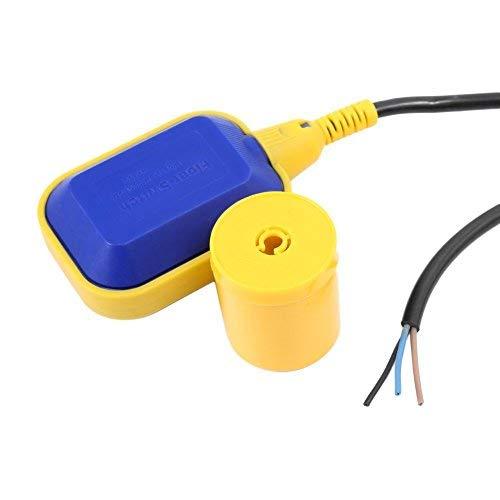 Commutateur Interrupteur de Niveau d'Eau à Flotteur avec Câble de 5M pour Pompe de Réservoir