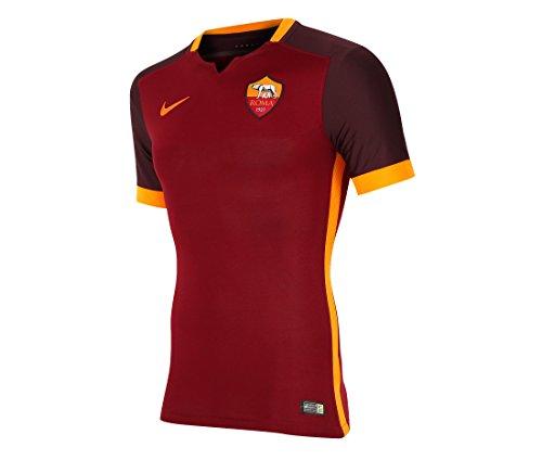 2015-2016 AS Roma Authentic Home Nike Football Shirt