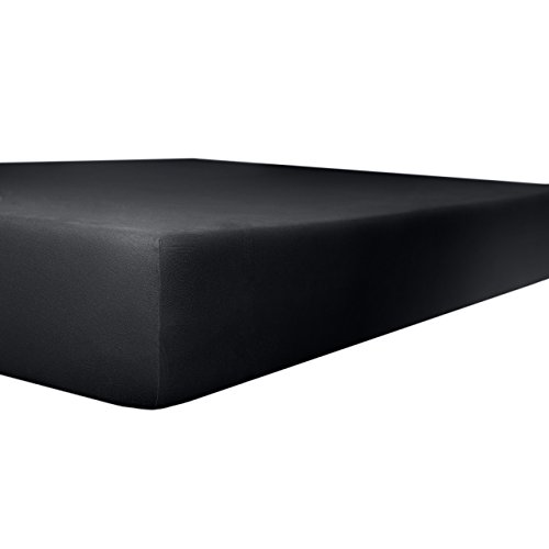 Kneer kwaliteit 22 Vario-Stretch Topper-hoeslaken 180x200x4-12cm 80 onyx