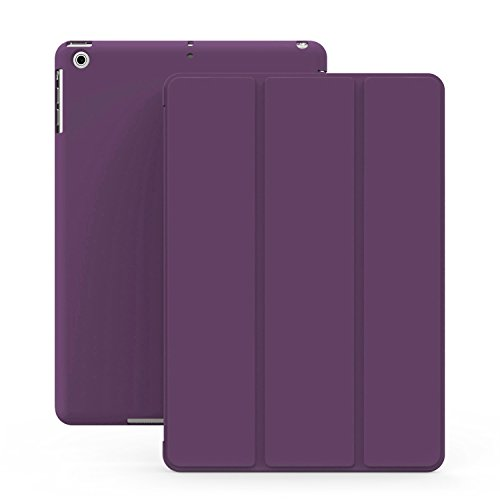 KHOMO Lila Violett Gehäuse mit doppeltem Schutz für Apple iPad Mini, iPad Mini Retina 2 und das neue iPad Mini 3