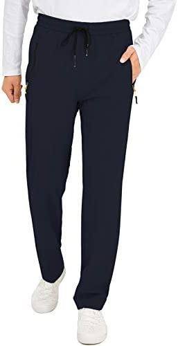 AIRIKE Men s Lightweight Lounge Pants with Zipper Pockets for Mountaineering Camping Jogger product image