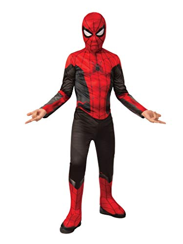 Rubies Spiderman Disfraz, Color Negro/Rojo, Large-8-10 Years, Height 147 cm, Waist 82 cm (700610_L)