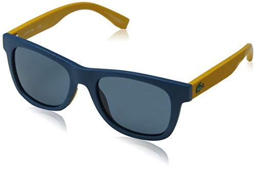 Lacoste L3617s 414 48 Occhiali da Sole, Blu (Matte Bluee Navy), Taille Unique Unisex-Bambini