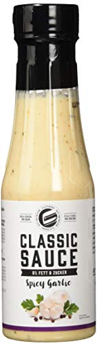 Got7 Classic Sauce Soße Salatsoße Grillsoße Perfekt Zur Diät Abnehmen Fitness Bodybuilding 350ml (Garlic)