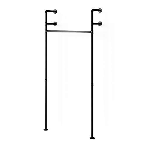 Vicco Loft Kleiderstange ILIARA Garderobe Kleiderschrank offen begehbar (90cm)
