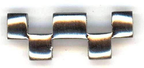 Auténtico Reloj Omega Bracelet Link Half, Acero Inoxidable Midi - James Bond Modelo 1993, Omega 115ST1501
