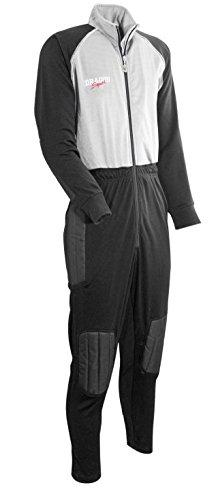 DragonSport Torwart-Overall Barca, Größe:XL, Farbe:schwarz/Silber