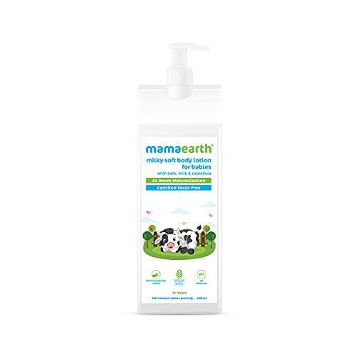 Milky Soft Body Lotion with Oats, Milk & Calendula – 400 ml