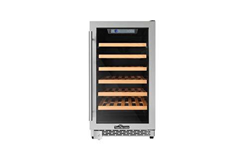 Thorkitchen HWC2405U 40 Bottles 18' Built-in Wine Cooler, stainless steel