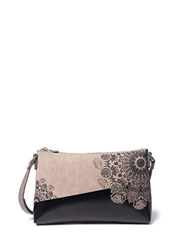 Desigual Zweifarbige Tasche mit Mandalas 2Tones DurbanSKU: 19WAXPCY1008U