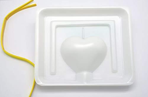 Moule à Bougie Coeur H 80 mm - Graine créative