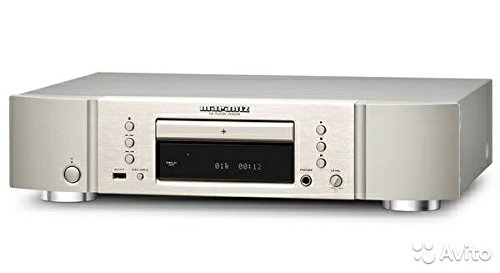 Marantz CD6005/N1SG CD-Player für Apple iPhone/iPod (CD-R/RW, 32 Watt, 100dB, USB-A) silbergold