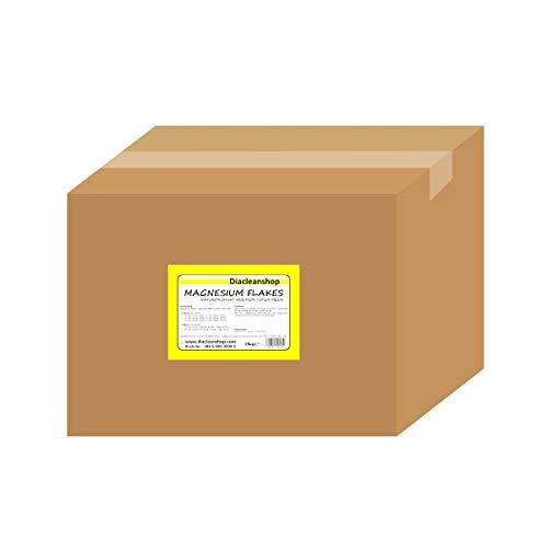 Magnesium Flakes aus dem Toten Meer 25kg - Magnesiumkristalle aus Magnesiumchlorid – 100% Naturprodukt - u.a. zur Herstellung von Magnesiumöl, Magnesium Spray, Fußbad & Vollbad uvm