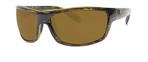 Unsinkable Polarized Men's Rival floating polarized sunglasses, Kale
