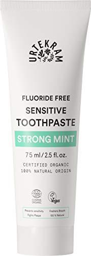 Urtekram Bio9 Toothpaste Organic, Strong Peppermint, 75 ml