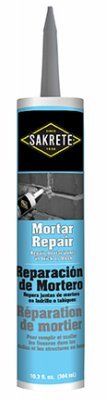 Sakrete Of North America 65450016 Mortar Repair Caulk, 10.3-oz. Tube - Quantity 12