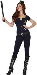 Atosa - Disfraz de policía para mujer, talla M/L (22943