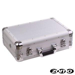 Zomo Flightcase VC-1 XT Silber - Alu Flightcase für DJ Controller wie z.b. DDJ-Wego, Maschine Mikro, MC2000, Vestax Spin, Roland TB-3, Roland TR-8 uvm