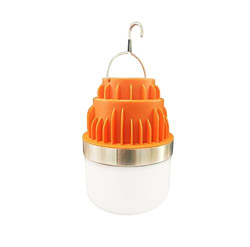 90W Linterna de Camping - IPX6 a Prueba de Agua - Super Brillante Farol de Camping - 3 Modos de Luz Farol de Camping LED - Linterna Camping Con Diseño de Gancho - para Camping, Senderismo, Pesca
